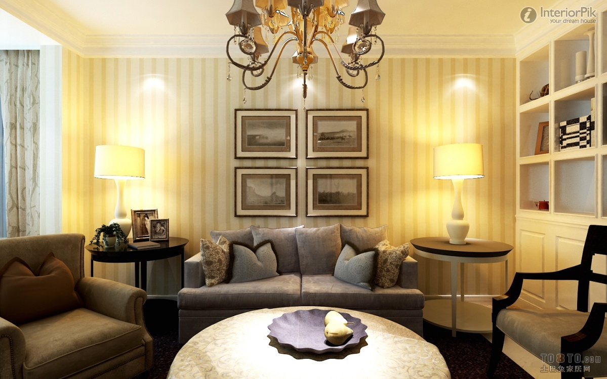 Attractive Living Room Wallpaper Ideas 2013 Picture Collection - The ...