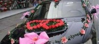 Model-Fashionable-decorated-wedding-car-photos-irannaz-com-5
