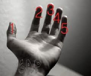 فال بی نظیر انگشتان دست