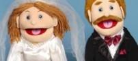 عروس و دامادی که همه چیزشان شبیه هم است !!