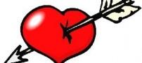 چرا قلب تیر خورده نشانه عشق است