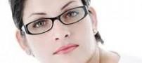 آرایش صورت خانم ها منطبق با عینك