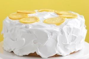 طرز تهیه کیک لیمویی به شیوه ی مارتا استوارت