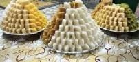 طرز تهیه ی لوز نارگیل