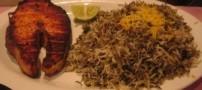 آموزش سبزی پلو با ماهی مخصوص شب عید