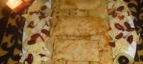 طرز تهیه ی کرپ قارچ با مرغ