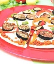 طرز تهیه ی پیتزای گوشت و بادمجان