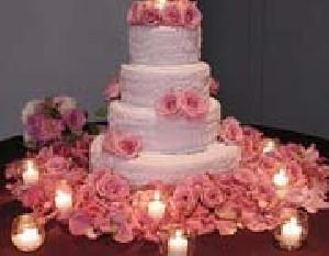 آموزش گل آرایی بر روی کیک