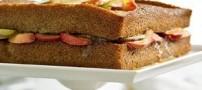 طرز تهیه ی کیک سیب با ادویه دارچین