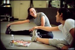 رابطه ی بین میل جنسی و حرکات کششی ورزش