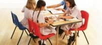 میز و صندلی های استاندارد برای کودکان