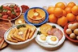 جدول میزان کالری میوه ها و لبنیات ها