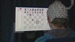 بازی با شطرنج بدون دست !