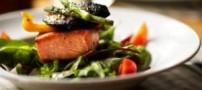 طرز تهیه ماهی پخته شده با کنگر فرنگی