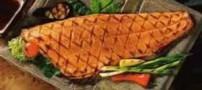 طرز تهیه ماهی با قارچ و اسفناج