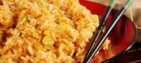 طرز تهیه برنج سرخ شده، غذای چینی