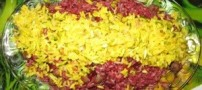 طرز تهیه ی آلبالو پلو برای خوش سلیقه ها