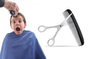 کودکانی که از آرایشگاه رفتن می ترسند …