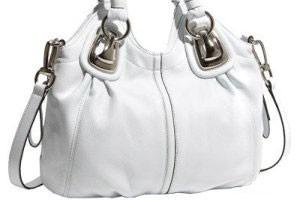 آموزش تمیز کردن کیف سفید و چرم