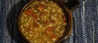 آشپزی مخصوص شام (سوپ لوبیا)
