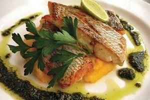 آشپزی به سبک ایرانی، فیله ماهی با اسفناج