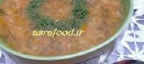 سوپ شوید با آب مرغ