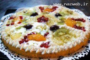 آشپزی، پیتزای میوه جات