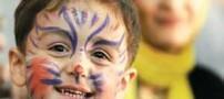 خطرات جدی گریم و نقاشی صورت کودکان