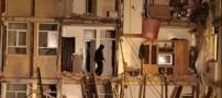 مرگ خانم 63 ساله و 2 کودک در آوار یک ساختمان