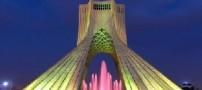 ترک خوردگی برج آزادی تهران