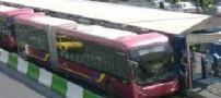 دستگیری زنی سارق در اتوبوسBRT