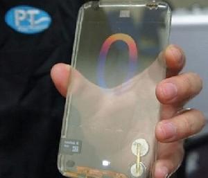 عرضهی اولین موبایل نامرئی جهان! ( تصویر)