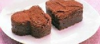 طرز تهیه ی شیرینی قلبی شکلاتی