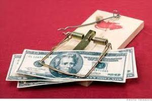 پنج اصل شکست در امور مالی