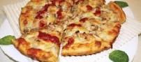 پیتزای نخود سبز، غذایی برای شب