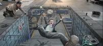 متوقف کردن نقاشیهای 3بعدی در خیابانهای تهران؟!