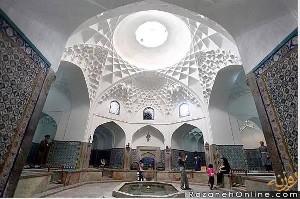 اولین حمام مختلط در ایران!! عکس