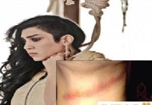 نجات معجزه آسای خانم بازیگر از صحنه اعدام! عکس