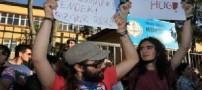 جدیدترین  نوع اعتراض جنسی در کشور ترکیه