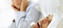 خطرات خرخر کردن در خواب