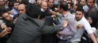 حمله به یکی از محافظان قالیباف به وسیله چاقو