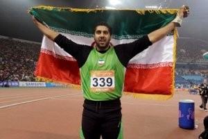 این جوان ایرانی برترین پرتابگر چکش در سال 92 شد