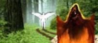 شکل شیطان در زمان فریب دادن آدم و حوا