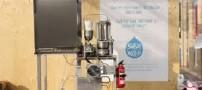 ساخت وسیله ای که عرق بدن را به آب تبدیل می کند