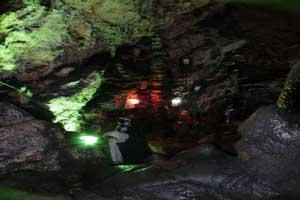 ایرانی زیبا با تصاویر خارق العاده از غار سه بعدی