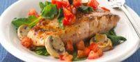 غذای رژیمی ماهی صدفی