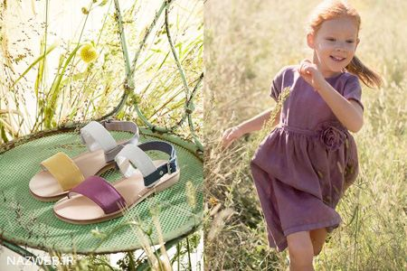 مدل کفش های تابستانه بچه گانه برند Ilgufo