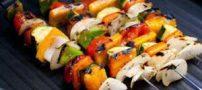 کباب سبزیجات رژیمی