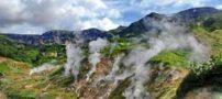 تصاویر دره آب فشان؛ یکی از عجایب هفتگانه جهان