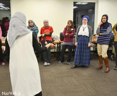 زنانی که در سال یکبار مسلمان می شوند! عکس